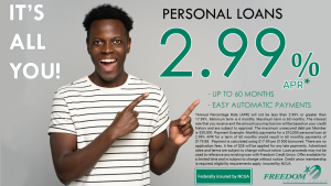 Personal Loan promotion rate and details